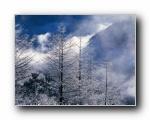 中国名山雪景:冬天的雪景