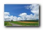 北海道:富良野与美瑛田园/草原摄影壁纸
