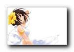 精美高清动漫少女宽屏壁纸 1920x1200