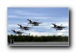 美国空军USAF的雷鸟(USAF Thunderbirds)