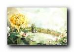 美丽的幻想世界 宽屏壁纸