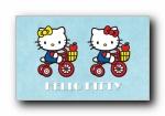 Hello Kitty 可爱宽屏壁纸
