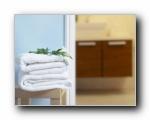 浴室温馨家居摄影壁纸