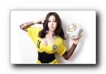 足球宝贝美女(多分辨率)