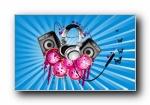 音乐Music 矢量风格宽屏壁纸(二)
