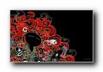 兔斯基可爱卡通 (宽屏+普屏)