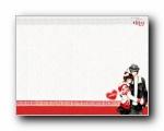女孩专用:韩国卡通女孩情侣可爱精美壁纸