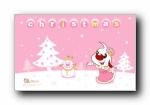 辛巴狗和哈米兔圣诞节主题壁纸(多分辨率)