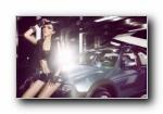 MG3SW高清车模壁纸(摄影师Dicky,模特小P)
