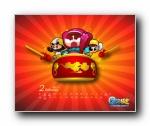 泡泡战士2011年卡通游戏月历壁纸