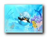 2011年2月(二月)月历壁纸(宽屏+普屏)