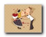 情人节可爱卡通精美高清壁纸