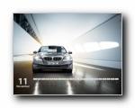BMW宝马5系月历壁纸(宽屏+普屏)