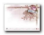 2011年3月(三月)月历壁纸 腾讯篇 (宽屏+普屏)