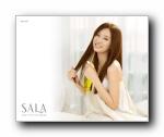 日本SALA美发护发产品广告壁纸