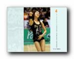 2011年4月(四月)月历壁纸 (YAHOO韩国版)
