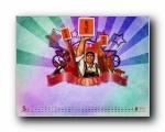 2011年5月(五月)月历壁纸 腾讯篇 (宽屏+普屏)