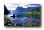 北欧 风光风景宽屏壁纸