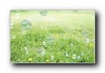 童年时光:泡泡 高清摄影宽屏壁纸