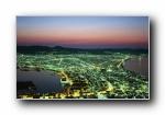日本的黄昏与黎明 高清摄影宽屏壁纸