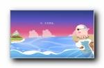 Nomo 可爱卡通章鱼宽屏壁纸