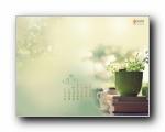 2012年5月(五月)月历壁纸 腾讯篇 (宽屏+普屏)