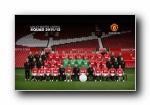 英超足球 Manchester United 2012赛季曼联球星宽屏壁纸