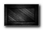 极致简约:黑色纹理宽屏壁纸