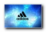 Adidas �\�悠放�V告��屏壁�
