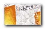 2012年9月(九月)宽屏月历壁纸