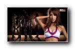 NBA2K online 篮球宝贝写真宽屏壁纸