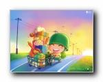 腾讯QQ精美壁纸2012年第十一季 (宽屏+普屏)