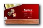 2012年12月(十二月)宽屏月历壁纸