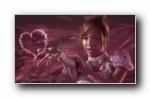 少女时代 手绘宽屏壁纸 1080p