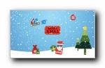 《圣诞快乐》IE浏览器主题简约宽屏壁纸