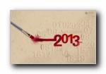 2013年1月(一月)月历壁纸 腾讯篇 (宽屏+普屏)