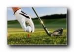 高尔夫,高尔夫球 宽屏壁纸