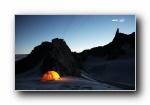�A�T和Intel第二�:�ふ也豢伤甲h 雪山雪景��屏壁�
