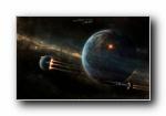 Gtgraphics外太空精美设计官方壁纸