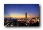 中国台湾高清灯光夜景宽屏壁纸