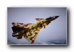 中国歼-10战斗机宽屏壁纸