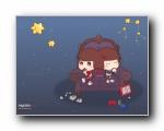 麦拉风十二星座 可爱女孩卡通壁纸