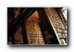 世界知名图书馆摄影宽屏壁纸