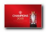 曼联2012-2013赛季夺冠纪念壁纸