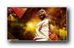 NBA 球星精美设计宽屏壁纸