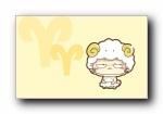 CC猫 可爱卡通猫宽屏壁纸
