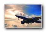 波音747�w�C��屏壁�