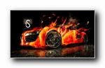 疯狂设计:《火》世界名牌汽车梦幻设计宽屏壁纸