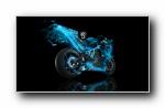 疯狂设计:世界名牌摩托车梦幻设计宽屏壁纸