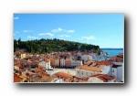 伊斯特里亚半岛 风光风景宽屏壁纸